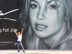 Fckng love this wall ad!