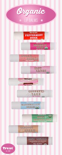 These absolutely ginormous lip balms are three times the size of regular lip balms and come with a 100% happiness guarantee. Simply swipe on one of these buttery-smooth, long-lasting balms and say goodbye to chapped lips. Choose from delectable flavors like Cotton Candy, Sugar Cookie and Marshmallow Cream. Get yours at treatbeauty.com.