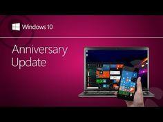 Windows 10: Atualização de Aniversário do Windows 10 - YouTube