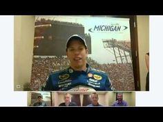 Google+ Hangout with NASCAR driver Brad Keselowski