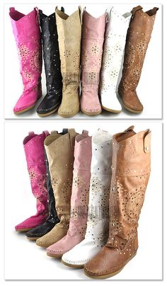 Handmade  Boots  Native American Style Choose you own by tisi, $120.00