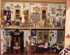 Antique Shop 1:12 Scale Dollhouse Miniature