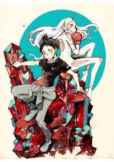 Deadman wonderland, my favorite anime, or at least one of them, I can't wait to post these pins!