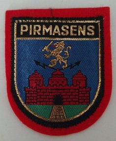 Pirmasens Germany Castle Patch Sew On Travel Collectible  #Unbranded