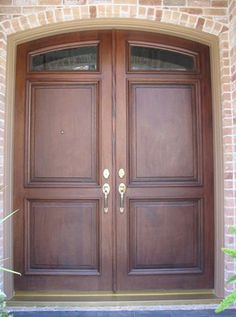1000 Images About Front Doors On Pinterest Double Front Doors Double Entry Doors And Wooden