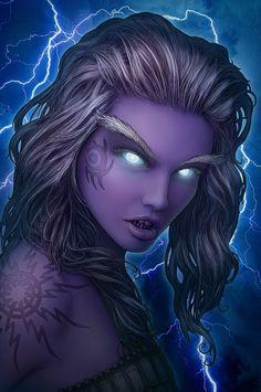 Elektra, Storm Giant Emissary