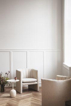 Loafer chair by Space Copenhagen, Lato table Luca Nichetto