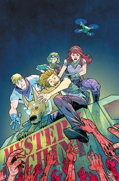 DC Comics Rebirth September variants, Mystery Machine (by Francis Manapul)