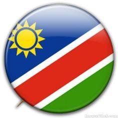 Namibia flag badge
