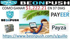 BEONPUSH.COM-BEONPUSH $1222.21 DOLARES EN 37 DIAS  https://www.beonpush....