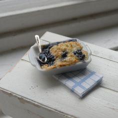 Miniature Blueberry Crumb