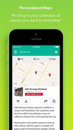 Save, organize, and share your favorite places with PinDrop mapping app for iPhone & iPad. Free Download: http://bit.ly/1prI7Et For Travel: Shopping, Sightseeing, Drinking, Dining, Translation of foreign destinations, Itinerary planning