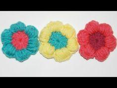 Come fare fiori cicciotti a uncinetto - Video Tutorial