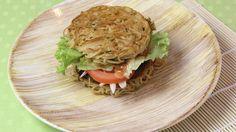 Veggie noedel-portabellaburgers | VTM Koken