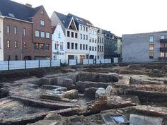 Antwerpse stadsarcheologen hebben op de site van het voormalige Zeemanshuis restanten aangetroffen van het Falcontinnenklooster, een klooster uit de middel...