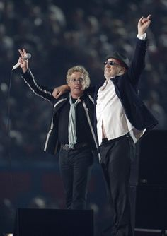 The Who now - Roger Daltrey and Pete Townshend