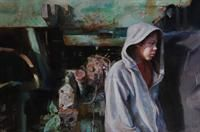 """Coleman Fine Art """"Generation"""" watercolor by Mary Whyte"""