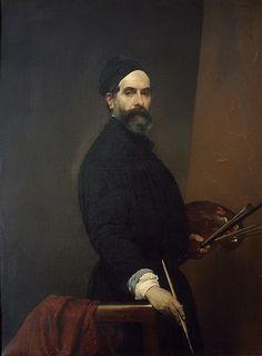 Autoportrait, par Francesco Hayez