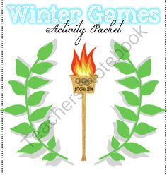 Winter Games Giveaway!! Enter for your chance to win.  Sochi Winter Games Activity Packet - Olympic Activity Packet (17 pages) from Mrs. D's Corner on TeachersNotebook.com (Ends on on 2-2-2014)  Sochi Winter Games activity packet!