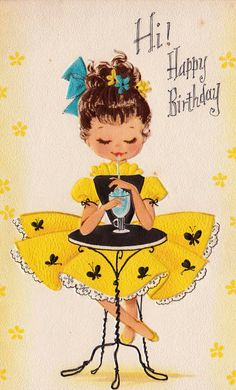 ┌ⅲii┐                                                              H is for Happy Birthday, Vintage Lifestyle Magazine