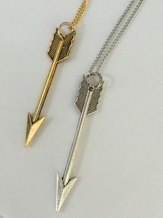 YW 2016 Theme - Press Forward - Arrow Necklace | Charming LDS Gifts