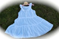 Alice In Wonderland Style Dress Boho Romantic  Shabby by IzzyRoo