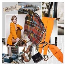 """""""Tartan Poncho"""" by sharoncrotty ❤ liked on Polyvore featuring Dot & Bo, London Undercover, Moschino Cheap & Chic, ALDO and Vivienne Westwood Anglomania"""