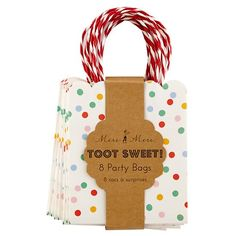 Toot Sweet Party Bags (Set of 8)  | The Land of Nod