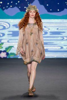 Anna Sui Spring 2014 Runway Show | NY Fashion Week