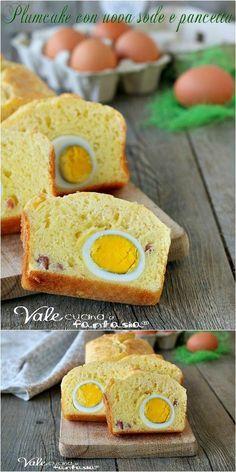 Plumcake uova sode e pancetta