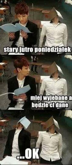 K Meme, Bts Memes, K Pop, Read 180, Polish Memes, Funny Mems, Happy Photos, Wtf Funny, Jikook