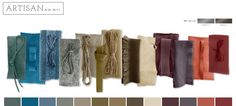 Colour Palette - Artisan courtesy of WGSN
