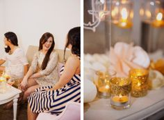 Get Your Sparkle On Bridal Shower by A Style Collective via Somewhere Splendid. Photography by Christa Elyce Photography.