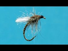"""Zeus Of Trout Outfitters Fly Tying a Blue Winged Olive Emerger """"Bowman's BWO Stuck"""" - YouTube"""