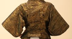 The finished McQueen kimono jacket