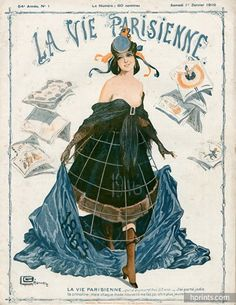 Georges Léonnec 1916 La Vie Parisienne Magazine Birthday, 53 Years !!!