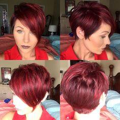 #pixie360 @nothingbutpixies #nothingbutpixies #fiidnt #pixie #redhair #redhead #shorthair #shorthairdontcare #imallaboutdahair #instapic #pixiecut