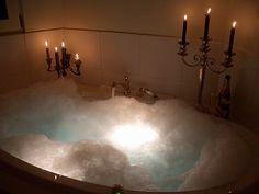 Having A Nice Relaxing Bubble Bath