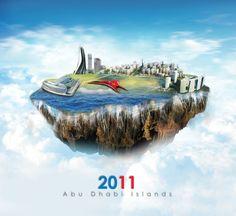 Abu Dhabi Islands by designer163.deviantart.com on @DeviantArt