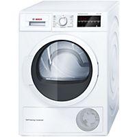 Bosch Series 6 Kuivausrumpu Wtw854l8sn Kuivausrummut Tumble Dryers Laundry Appliances Clothes Dryer