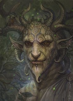 celtic-forest-faerie:  {Forest King} by {CG-Warrior}