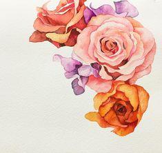 장미 스위트피 라넌큘러스 . . #이것도미완성저것도미완성모두다미완성 #꽃#꽃스타그램#꽃그림#그림#그리기#수채화 #식물#드로잉#일러스트 #leegreeem#flower#flowerstagram#instadraw#coloring#painting#watercolor#instadaily#instadraw#daily#drawing#illust#illustration#selfie#dailypic