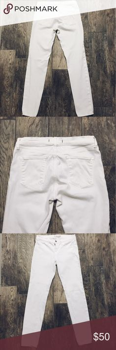 J Brand Jeans White J Brand super skinny jeans. EUC J Brand Jeans Skinny