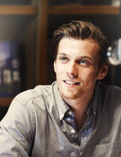 """Jake Abel. Little Adam Winchester has grown up nicely."" Well... we wouldn't know, we haven't seen him in a few years."