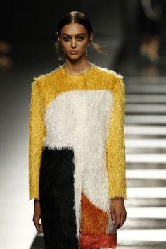 Juanjo Oliva | abstract tailored driving coat
