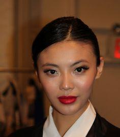NARS Dragon Girl - StyleVamp: NY Fashion Week: Farah Angsana 2012