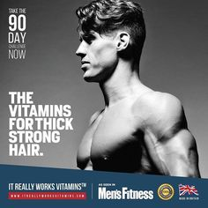 Take The 90 Day Challenge and Get Stronger, Thicker, Healthier with It Really Works Vitamins, or your money back. Grab 15% off your first order with discount code MENSFITNESS15 Shop here → www.itreallyworksvitamins.com Made in The UK 🇬🇧