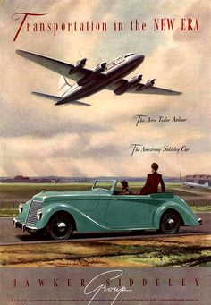 Hawker 1940 Siddeley Car Tudor Airliner