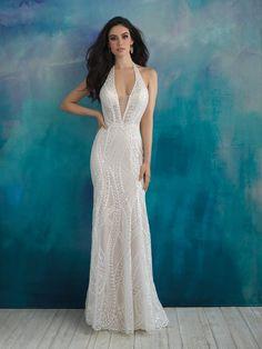 Sexy Sheath Wedding Dress by Allure Bridals - Image 1