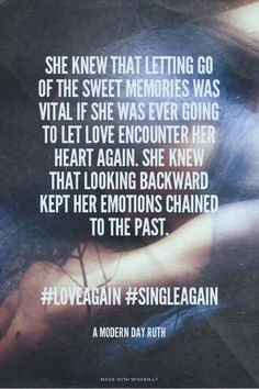 . A Modern Day Ruth #loveagain #singleagain - A Modern Day Ruth | Jenny made this with Spoken.ly